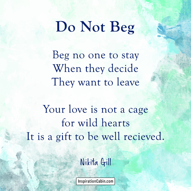 Do Not Beg
