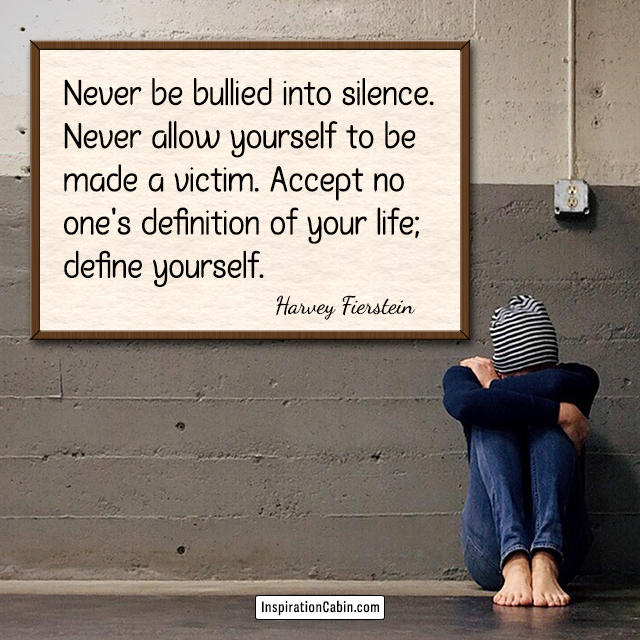 Define yourself quotes by Harvey Fierstein