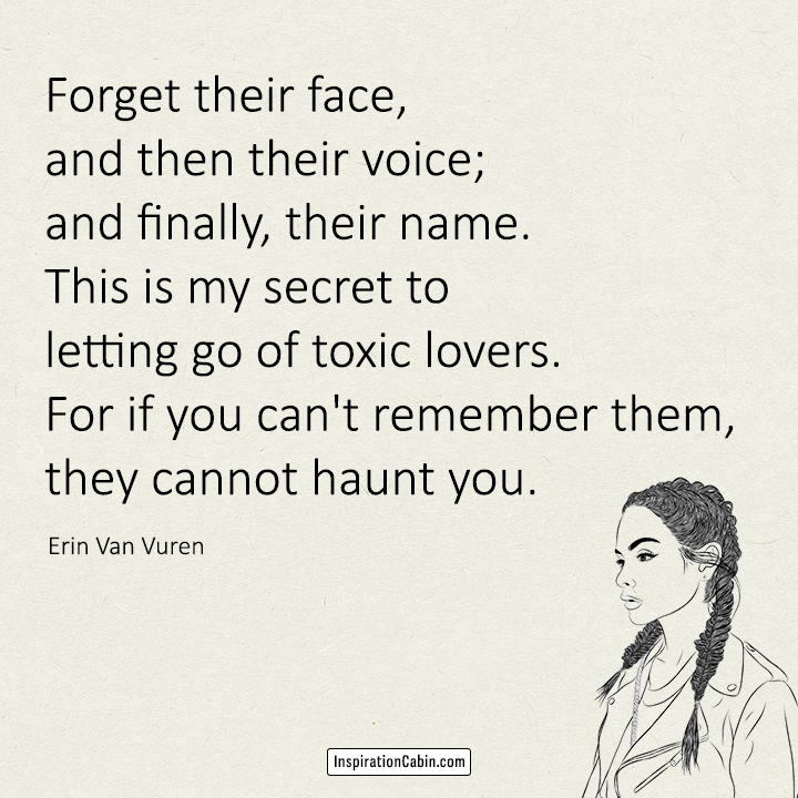 Forget their face