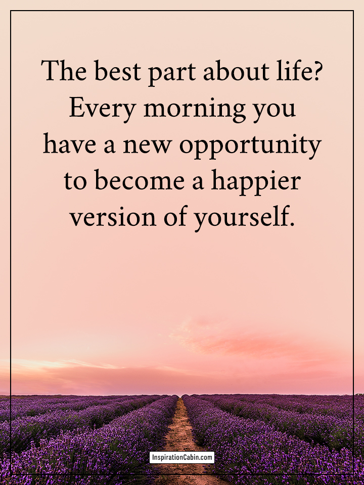 new opportunity to become a happier