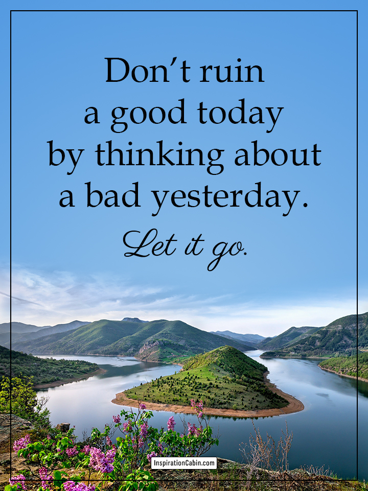 Let it go quotes new day