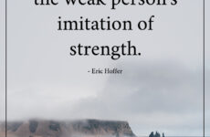 Rudeness is weak quote