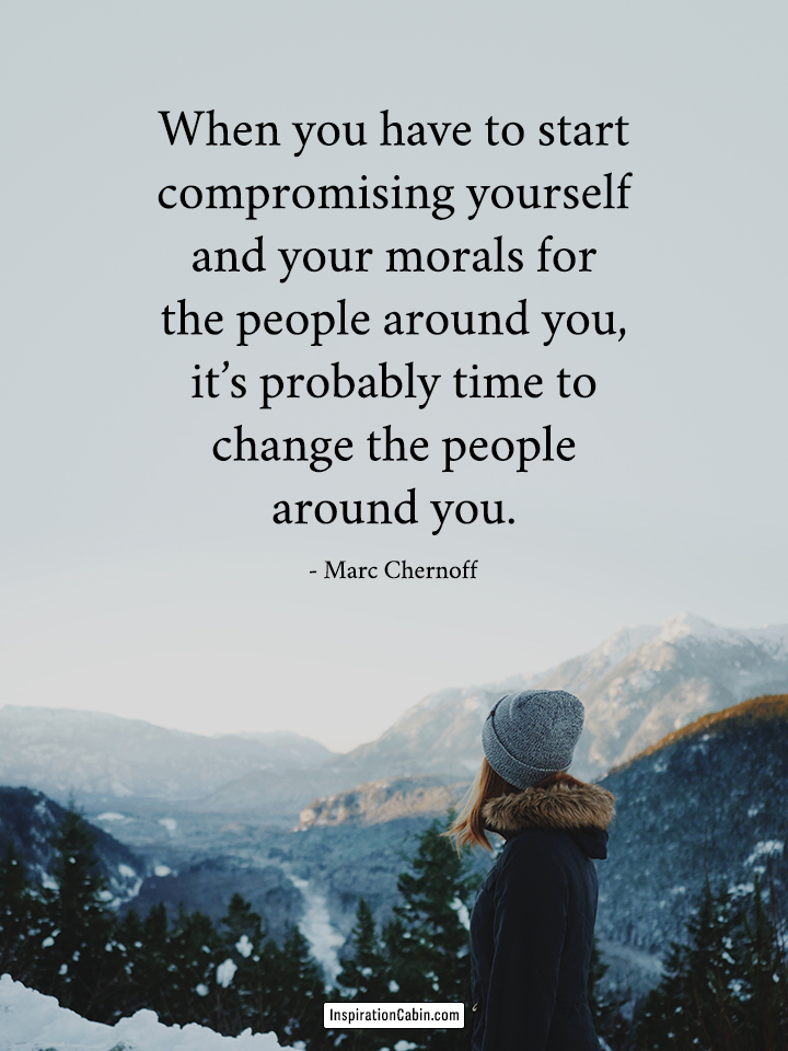 change the people around you